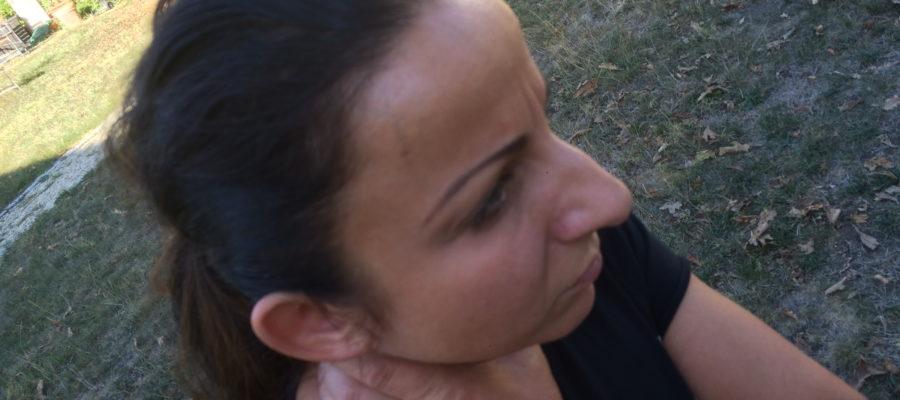 Frauenselbstverteidigung - Befreiung aus einer Würge